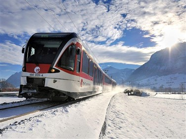Swiss St Nicholas Snow Train Adventure
