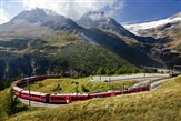 2018 Swiss Glacier Express and the Bernina