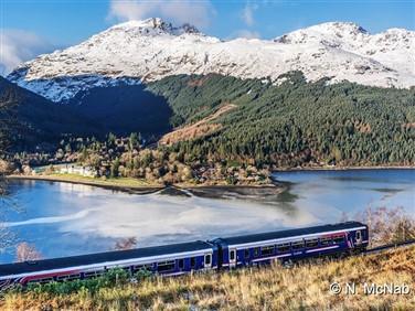 "<img src=""arrocharalps-normanmcnab.jpeg."" alt=""West Highland Line "">"