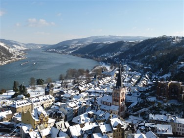 New Year Celebrations by the Romantic Rhine