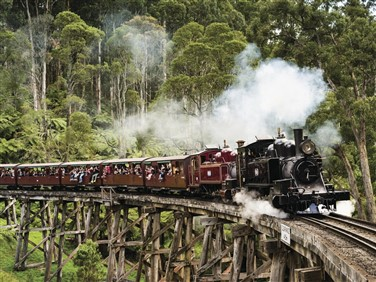Australia - Steam on Five Gauges Flight Inclusive