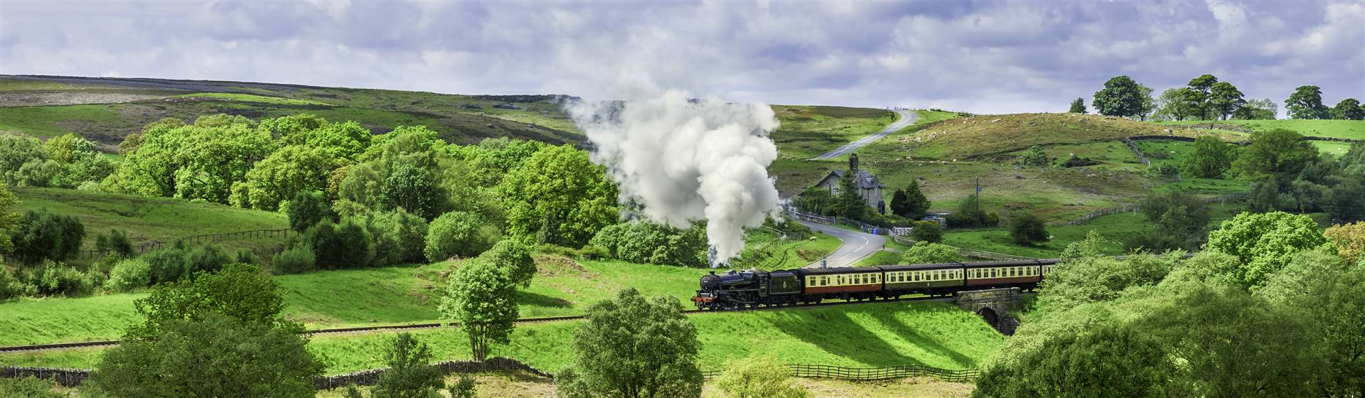 """<img src=""""steamtrainnrpickeringonnorthyorkmoor-shutterstock.jpeg"""" alt=""""Steam Train Yorkshire Moor""""/>"""
