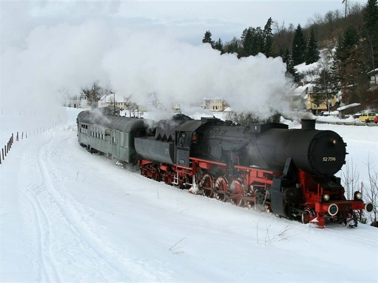 Black Forest New Year Steam Celebration