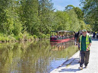 """<img src=""""llangollen-canal©shutterstock.jpeg"""" alt=""""Horse Pulling Canal Barge""""/>"""
